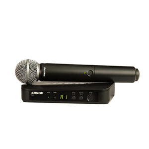 Shure BLX24/SM58 - Système micro main sans fil
