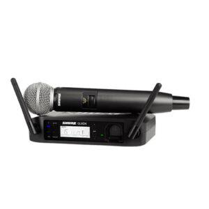 Shure GLXD24/SM58 - Système micro main sans fil sur batterie