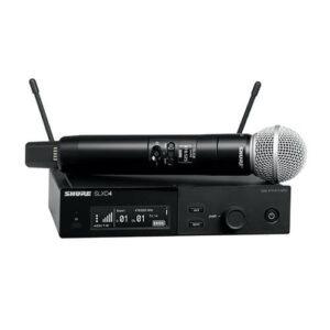 Shure SLXD24/SM58 - Système micro main sans fil numérique rackable