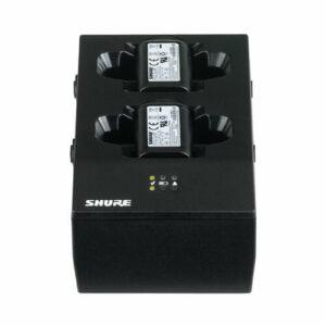 Shure SBC200 - Chargeur 2 baies pour QLX-D et ULX-D